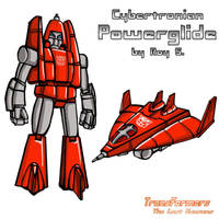 Cybertronian Powerglide by TF-The-Lost-Seasons