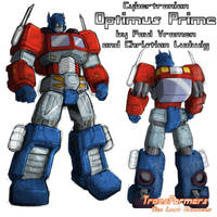 Cybertronian Optimus Prime by TF-The-Lost-Seasons