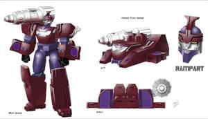 Cybertronian Rampart by TF-The-Lost-Seasons
