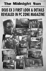 TheMidnightSun_Volume1-Issue1 by Deus-Ex-Fan-Club