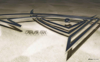 Deus Ex Logo by Deus-Ex-Fan-Club