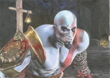 Kratos by barbara-camara