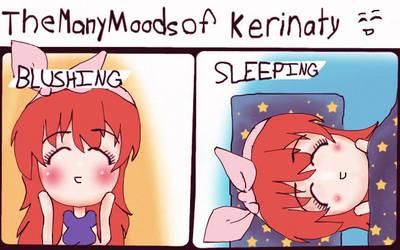 The many moods of Kerinaty by GodsOnVacation