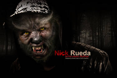 Halloween Series Wolf Man by ThePinkPlastic
