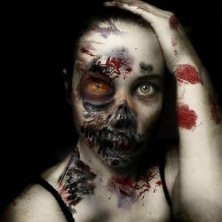 Zombie by ThePinkPlastic