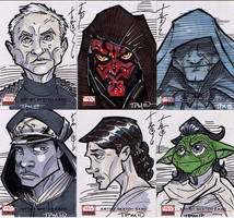 SW Galaxy Sketch Cards 02 by Hodges-Art