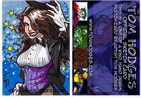 Zatanna PSC by Hodges-Art