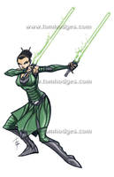 Jedi master Keelyvine Reus by Hodges-Art