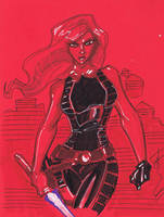 Oct 7 Art Cast Mara Jade by Hodges-Art