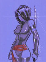 Psylocke 02 by Hodges-Art