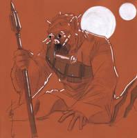 12x12 Tusken Raider SLC by Hodges-Art