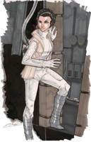 Princess Leia 8/15 by Hodges-Art