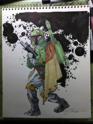 Boba Fett 9/1 by Hodges-Art