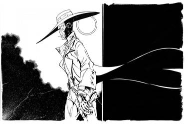 Cad Bane SW Insider Sept 2012 INKS by Hodges-Art