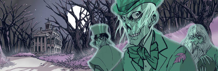 Hitchhiking Ghosts Colors by Hodges-Art