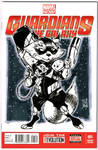Marvel NOW GOTG Rocket Raccoon Sketch Cover by Hodges-Art