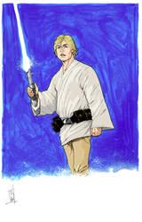 Luke Skywalker by Hodges-Art