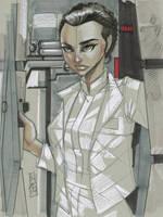 Princess Leia (Hoth Gear) by Hodges-Art