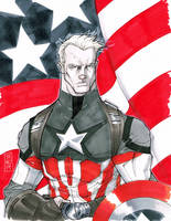 Captain America by Hodges-Art