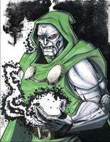 Doctor Doom by Hodges-Art