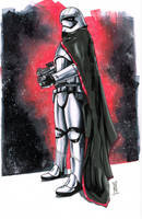 Captain Phasma from STAR WARS: THE FORCE AWAKENS by Hodges-Art