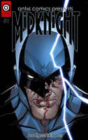 Antiis Comics Presents No 1: Midknight (cover) by Hodges-Art