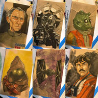 The Star Wars Sketch Book 03 by Hodges-Art