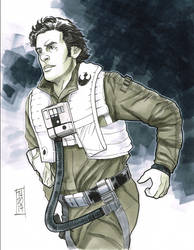 Poe Dameron by Hodges-Art