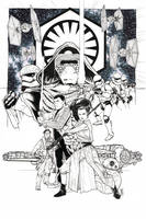 The Force Awakens by Hodges-Art