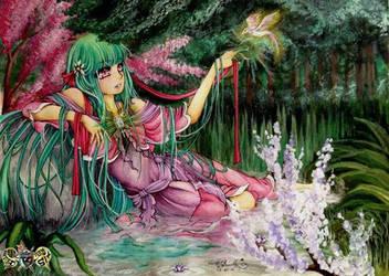 Goddess of the Rainforest by NikkiCHO