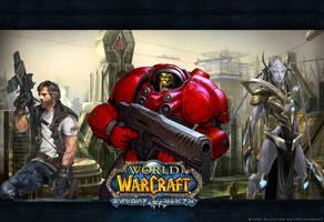 World of StarCraft wallpaper by HellbirdIV