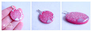 Love tree pendant by caithness-shop