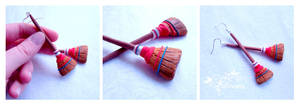 Broom earrings by caithness-shop