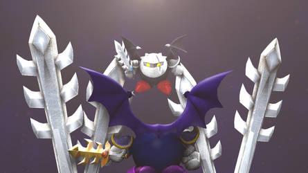 Dark Meta Knight by Hesei-Pikmin