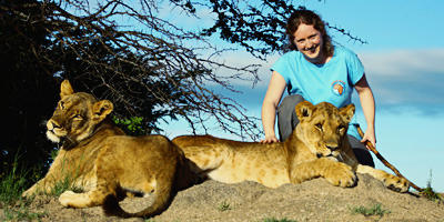 Me and lions by wackymanda