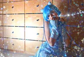 Shiny Mew likes shiny things! by Cita-la-Star