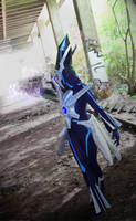 Look back trough the time (Dialga Cosplay) by Cita-la-Star