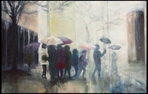 The Rain by Ansheen