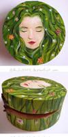 Fata verde cu parul padure (spring) by Ansheen