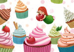 Cupcakes by Ansheen