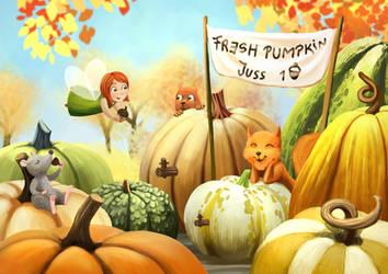 Pumpkin juice by Ansheen