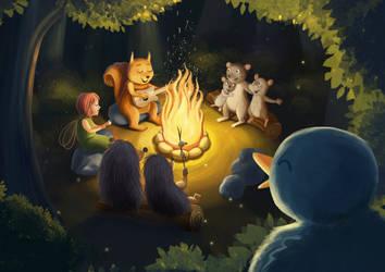 Bomfire songs by Ansheen