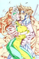 Rogue Gambit love by GordonAlyx