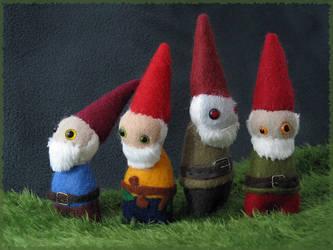 Gnome Family Portrait by Jevist