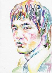 Bruce Lee by MarinaSotiriou