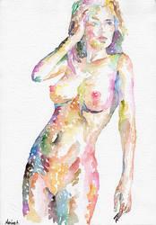 Nude 093 by MarinaSotiriou