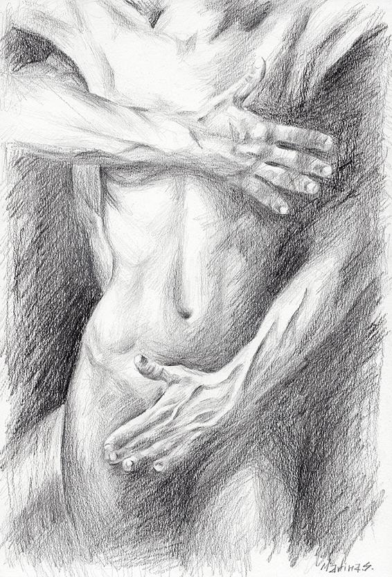 Nude 100 72 by MarinaSotiriou