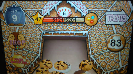 Reached Level 47 in Cookie Dozer by TheTyrannosaurus