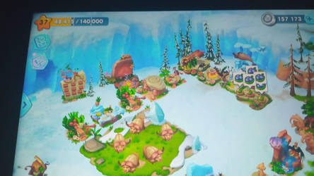 Reached Level 37 in Ice Age World by TheTyrannosaurus