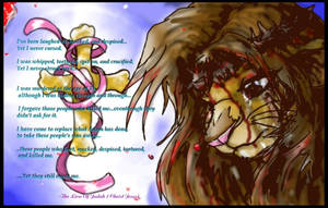 'The Lion of Judah Cries' by Christian-a-n-m